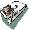 Disk Drive Computer Part clipart