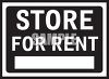 Store for Rent Sign clipart