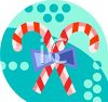 Peppermint Candy Canes Icon clipart