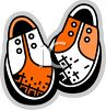 Shoes Icon of Saddle Shoes clipart