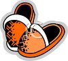 Slippers Icon clipart