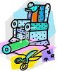 Upholstery and Furniture Making Icon clipart