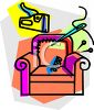 Upholsterer Icon - Repair of Furniture clipart
