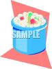 Small Crock of Macaroni Salad clipart