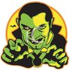 Retro Halloween Vampire  clipart