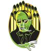 Retro Halloween Phantom of the Opera Monster clipart