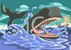 Jonah Inside the Whale's Mouth clipart