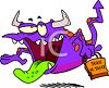 Halloween Monster Trick or Treating clipart