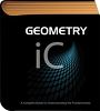 Geometry book for school classroom clipart