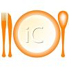 Empty Plate in a Place Setting with Flatware clipart