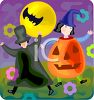 Kids Trick or Treating  clipart