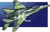 Camouflage Military Jet  clipart