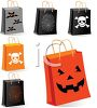 Spooky Halloween Trick or Treat Candy Bags clipart