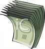 Dollar Bills clipart
