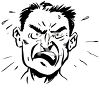 Angry Man clipart