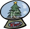 Christmas Snow Globe clipart