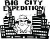 Tourist in the Big City clipart