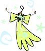Stylized Angel Christmas Icon clipart