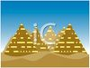 Pyramids in Egypt, Africa clipart