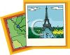 Pictures of Paris France Including the Eiffel Tower clipart