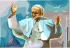 Pope John Paul at The Vatican clipart