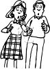 Shocked Parents clipart
