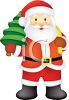 Santa Claus Christmas Graphic clipart