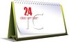 Desk Calendar on December 24 Christmas Eve clipart