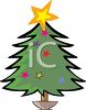 Cute Little Christmas Tree clipart