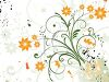 Pretty Spring Flowers Background clipart