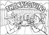 First Thanksgiving clipart