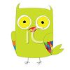 Funny Cartoon Owl clipart