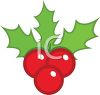 Holly Berries clipart