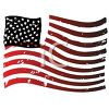 Distressed American Flag-Old Glory clipart