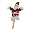 Santa Claus Christmas Lollipop clipart