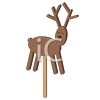 Rudolph The Red Nose Reindeer Christmas Lollipop clipart