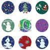 Collection of Christmas Decals clipart