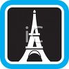 Eiffel Tower Icon clipart