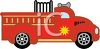 Toy Fire Truck clipart