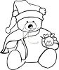christmas bear image