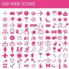 100 Web Icons clipart