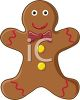 The Gingerbread Man clipart