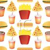 Junk Food Wallpaper Background clipart