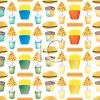 Fast Food Wallpaper Background clipart
