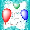Floating Balloons clipart