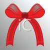 Simple Red Bow clipart