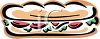 Cold Cut Sub clipart