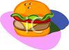 Cheeseburger Icon clipart