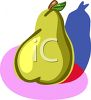 Yellow Pear clipart