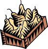 Box of Pears clipart